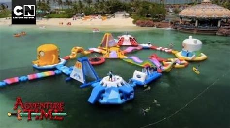 Ghost Of Atlantic Jungle Resort adventure time obstacle course at atlantis resort