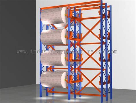 industrial heavy duty pallet rack adjustable rolling