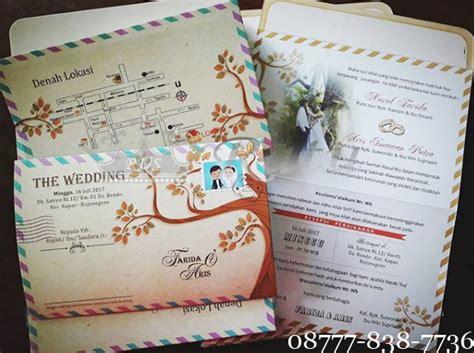 Undangan Pernikahan Blangko Murah undangan blangko pernikahan bentuk lop unik ratu undangan souvenir hp 085649411149 wa