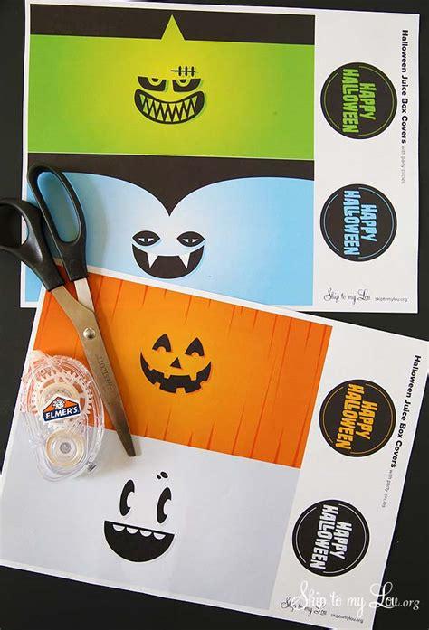 printable christmas juice box cover printable halloween juice box covers skip to my lou