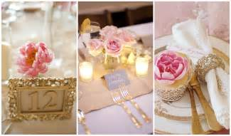blush and gold wedding decor blush pink and gold wedding inspiration one charming day