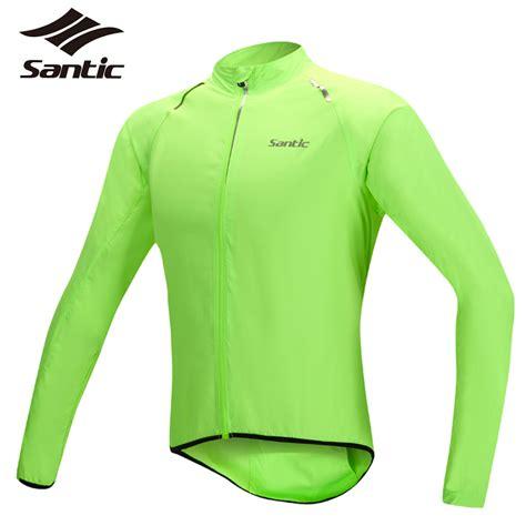 cycling raincoat santic 2016 men cycling jacket upf30 waterproof outdoor