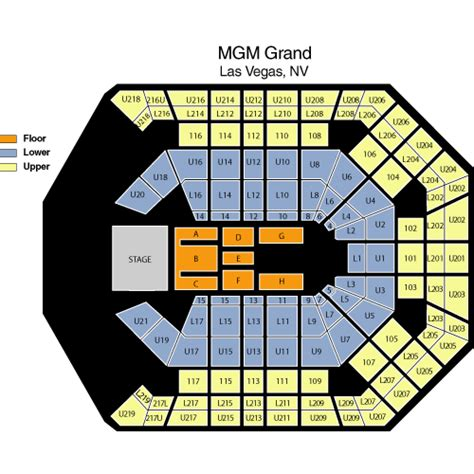 Mgm Grand Garden Arena Seating Chart by Paul Mccartney June 10 Tickets Las Vegas Mgm Grand