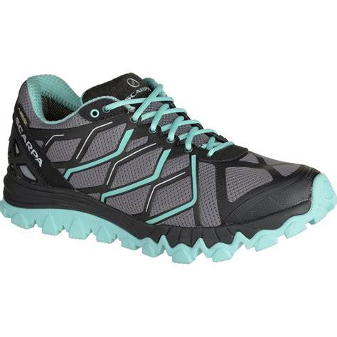 gtx trail running shoes scarpa proton gtx trail running shoe s