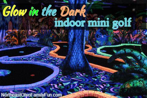 Glow in the Dark Indoor Mini Golf
