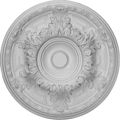 two ceiling medallions 19 quot od x 1 1 2 quot p granada ceiling medallion