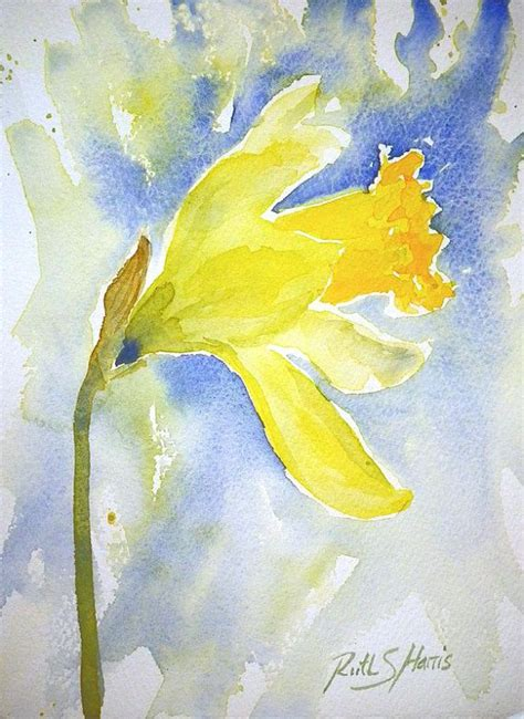 watercolor daffodil tutorial 960 best images about loose watercolor florals on