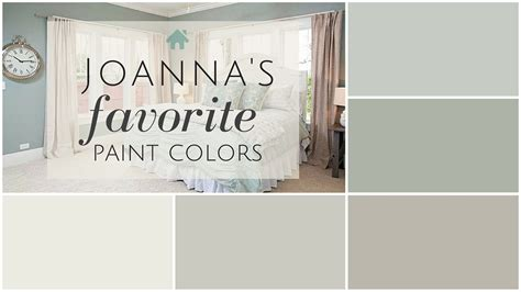 fixer paint colors joanna s 5 favorites design painting och inspiration