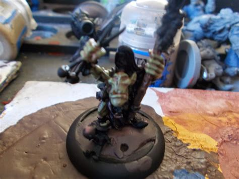 Straken Green proximocoal how to paint gremlin skin
