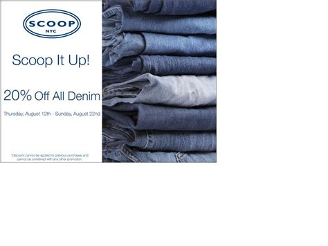 Deals And Steals At Scoop Nyc Bglam by Scoop 20 Denim The Luxury Spot