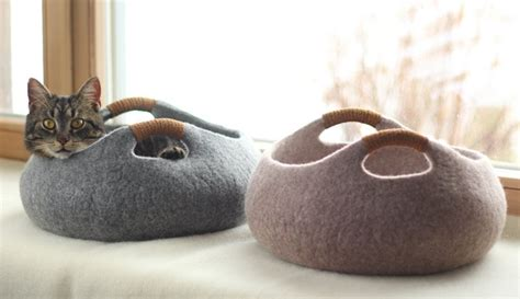 cats bed cat beds don t have to look like a cat bed contemporist