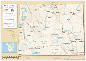 Map Of Wyoming State by Map Of Wyoming State