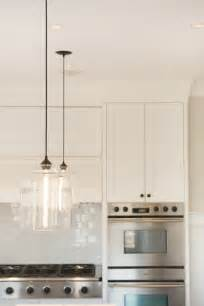 pendant lights over island niche modern bell jar pendant