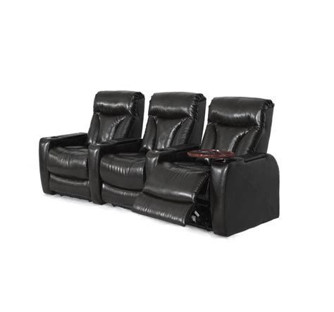 recliner with arm storage carmel black bonded leather 2 arm power recliner with