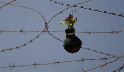 fiori nei cannoni palestina a bilin le bombe diventano fiori vanityfair it