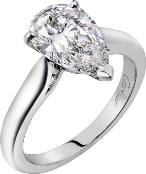 crh4209400 1895 solitaire ring platinum cartier