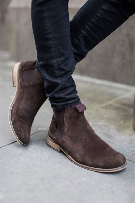 gq mens boots suede chelsea boots gq californication