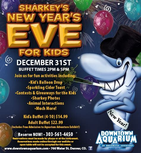 holiday things to do in metro denver sharkey s new year s