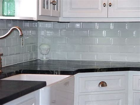 Kitchen Backsplash Glass Tile Ideas Corner Glass Backsplash Tiles Med Home Design Posters