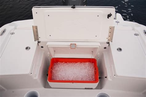 boat under seat cooler research 2015 crevalle boats 23 bay on iboats
