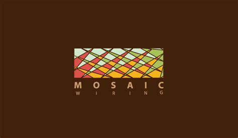 Mosaic Pattern Logo | logo mosaic wiring logorium com