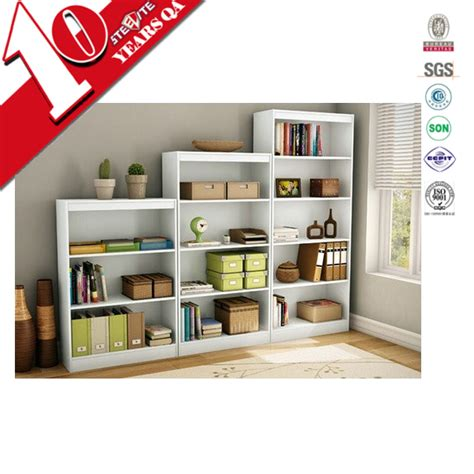 factory price home furniture self assembly bookcases