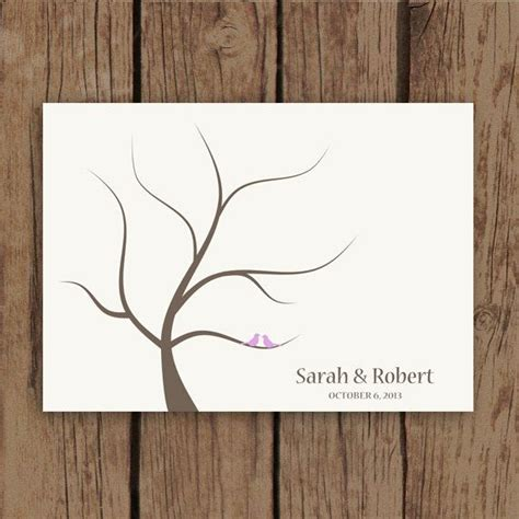 guestbook tree template best 25 fingerprint guest books ideas on