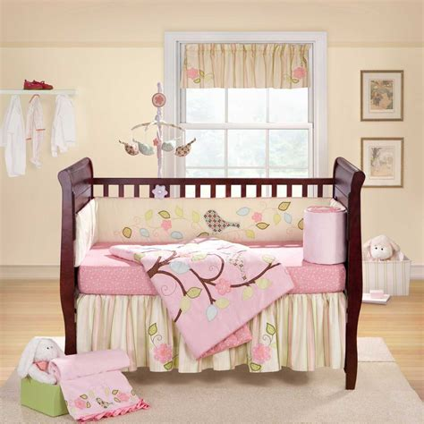 mini crib bedding sets for girls home furniture design