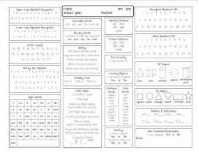 kindergarten report card template assessment kinder assessment kindergarten report card