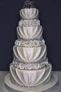 Silver romantic wedding cake wedding day pins you re 1 source for