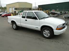 2001 chevrolet s10 extended cab 4x4 up truck