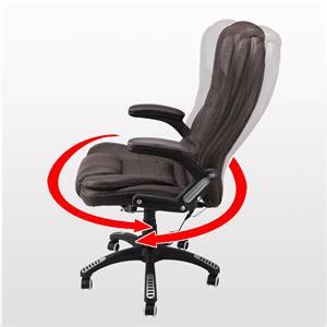 kidzmotion leather high back reclining office chair
