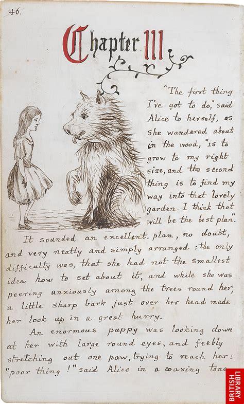 lewis carrolls original illustrations  alices adventures  wonderland