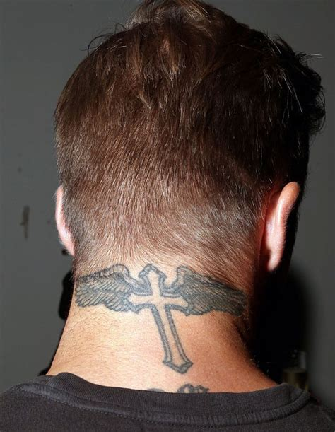 back of neck tattoos for men neck images designs