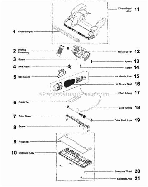 dyson dc28 parts diagram dyson dc28 parts list and diagram ereplacementparts