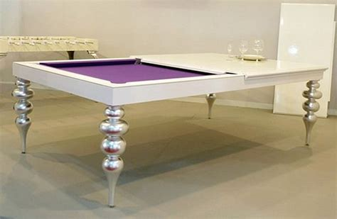 practical convertible billiard dining tables by mbm billardi