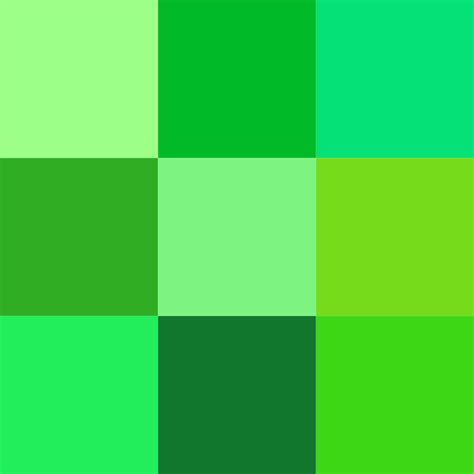 colors of green file color icon green svg wikimedia commons