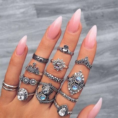 how to do ombre stiletto nail light pink ombre stiletto nails pictures photos and