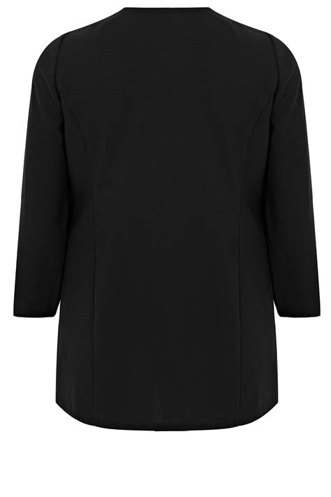 how do i register my as a service black crepe longline waterfall jacket plus size 16 to 32