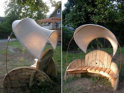 Wooden Spool Chair by Spool Chair Pallets And Crates
