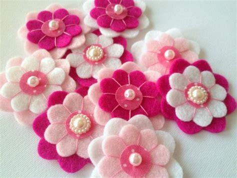 fiori in panno come utilizzare panno lenci e feltro ecco 20 idee carine