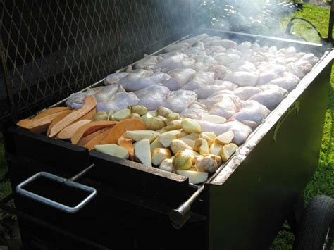 chicken bbq pit trailer heavy duty charcoal grill bbq42 bbq pit