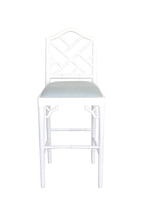 Chippendale Counter Stools by Chippendale Counter Stool White Abide Interiors