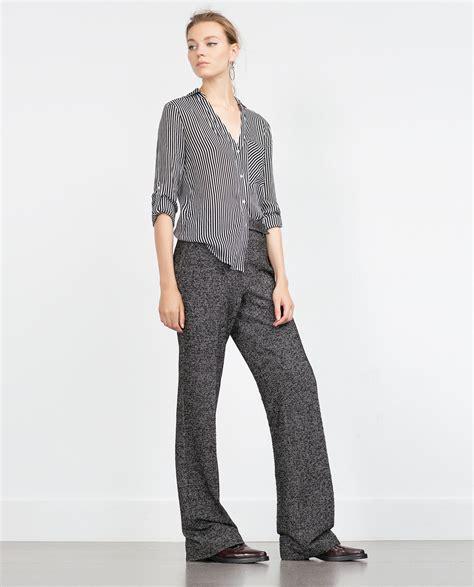 Hemd Damen by Gestreiftes Hemd Oberteile Damen Zara Deutschland