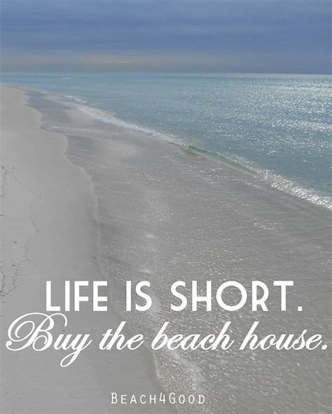 buying a beach house life is short buy the beach house wife gift gifts by
