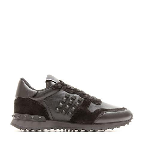 valentino sneakers lyst valentino rockstud noir sneakers in black