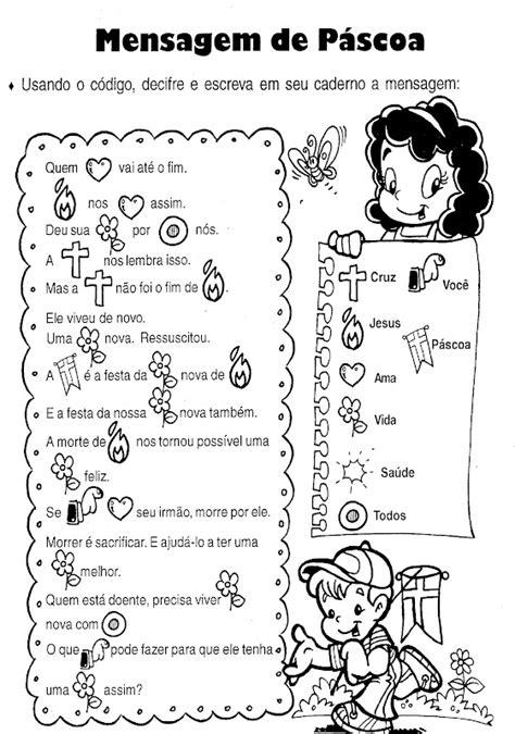 Pedagógiccos: Mensagem enigmática de Páscoa