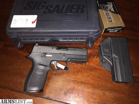 sig p320 laser light armslist for sale sig sauer p320 compact with light and