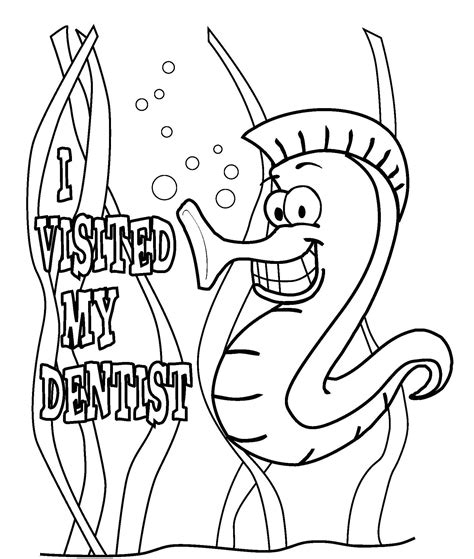 Free Dental Coloring Pages Bestofcoloring Com Free Dental Coloring Pages
