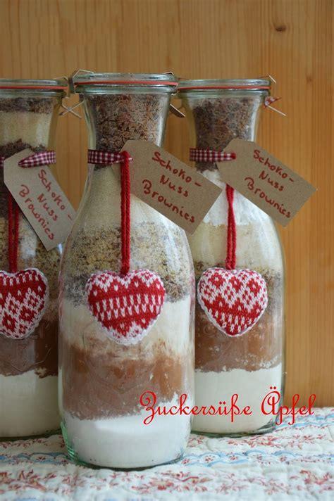 zuckersuesse aepfel winterliche backmischungen im glas
